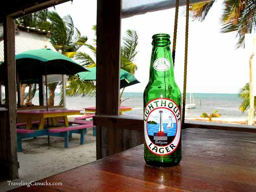 LightHouse Lager, Caye Caulker, Belize