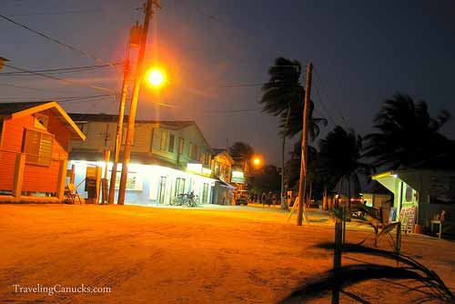 Caye Caulker at Night