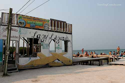 The Lazy Lizard - Caye Caulker, Belize