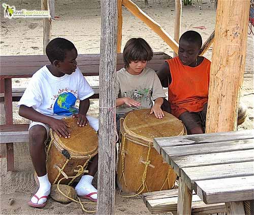 learning how to drum in belize
