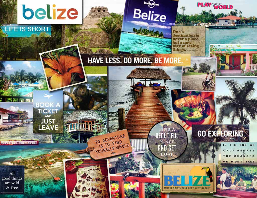 Belize Collage