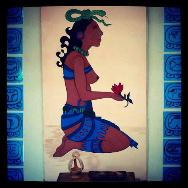 Ixchel, Maya goddess of medicine and fertility