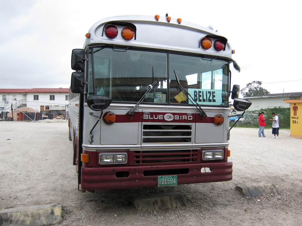 Belize Local Bus to Belize City