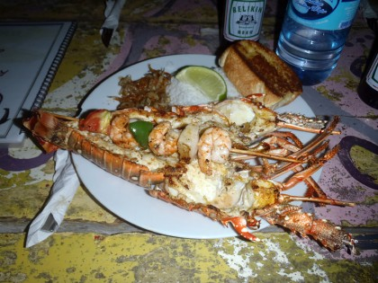 Caye Caulker - Lobster festival