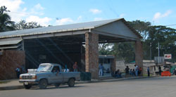 The Guatemalan immigration building.