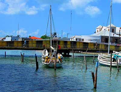 Belize City Swing Bridge