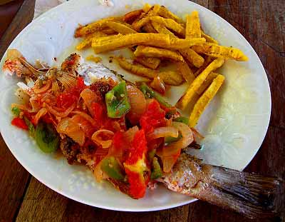 Traditional food of Belize
