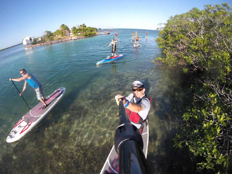 PADDLING THE CALM WATER OF THE TOBACCO RANGE