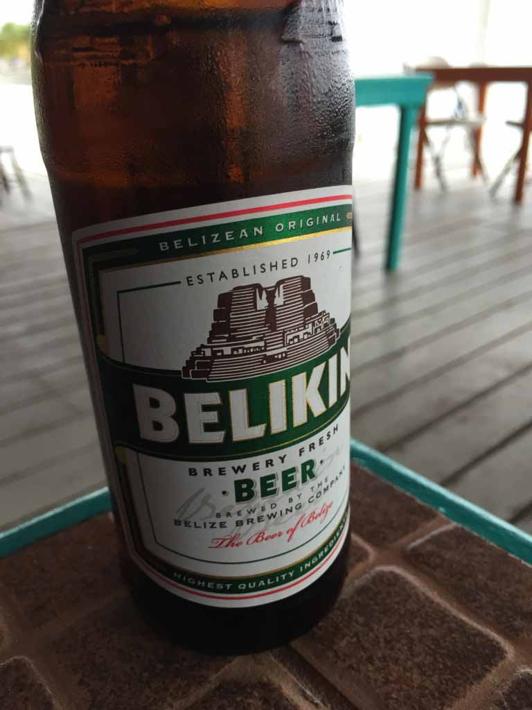 One of the best ways in Belize to end the day.