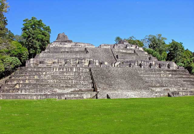 The Sacred Mountain: Caana (Sky Place), Caracol, Belize