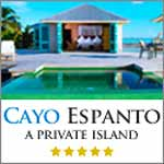 Click for Cayo Espanto, and have your own private island