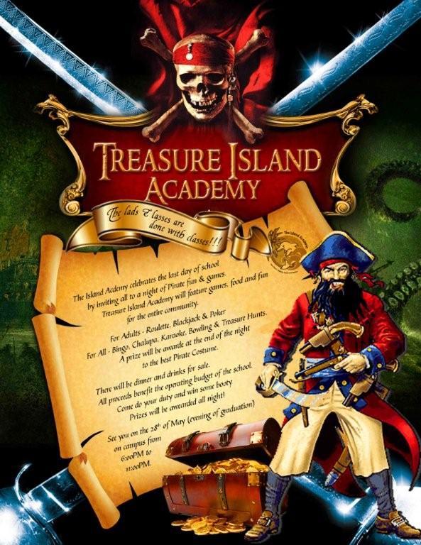 Treasure Island Academy: Pirates wreaking havoc!