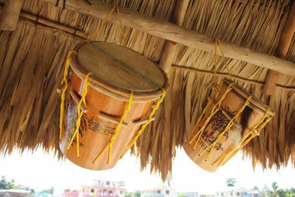 photo essay  how to make a garifuna drum