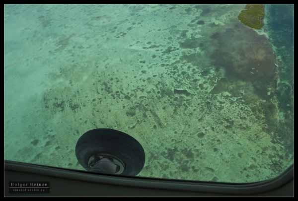 Mesmerizing blue of the Caribbean Seas - das hypnotisierende Blau der Karibik
