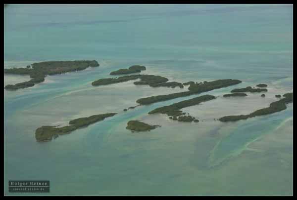 South tip of Ambergris Caye aka Cangrejo Caye - S�dliche Spitze von Ambergris Caye namens Cangrejo Caye