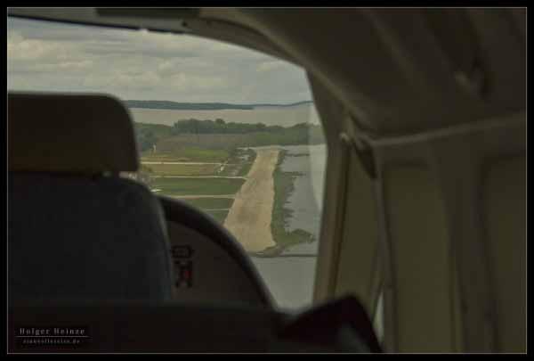 Belize City Municipal Airstrip. - Der lokale Flugplatz.