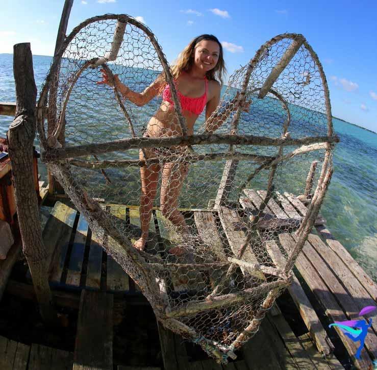 heart shaped lobster trap