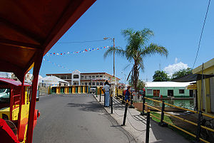 English: Swing Bridge Belize City, Belize