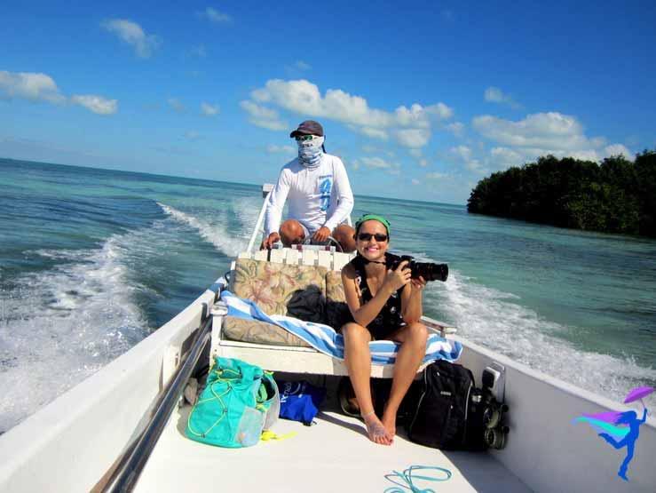 GoFish Belize boat camera