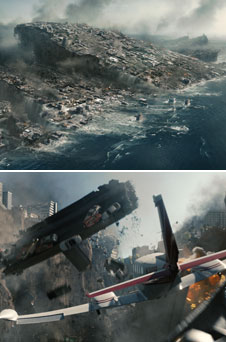 Scenes from the upcoming film 2012. Courtesy Columbia Pictures.