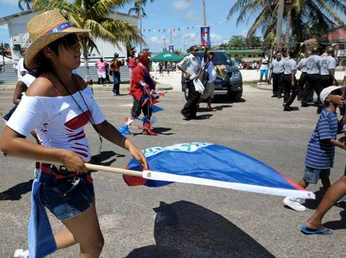 Belize Independence Parade