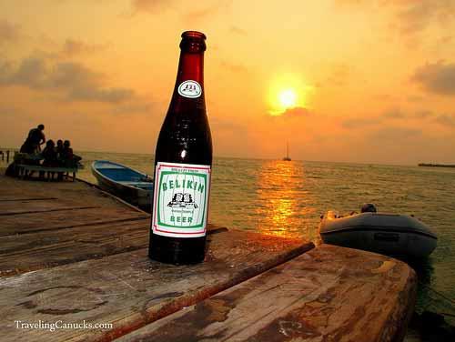 Belikin Beer, Caye Caulker, Belize
