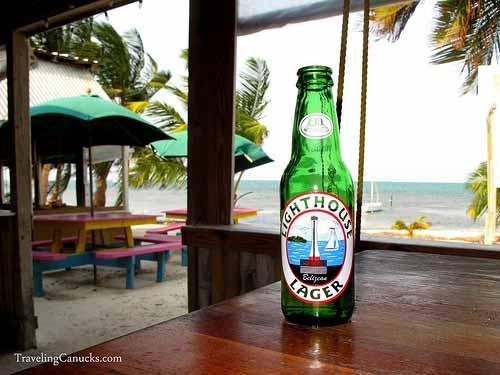 LightHouse Lager, Caye Caulker, Belize