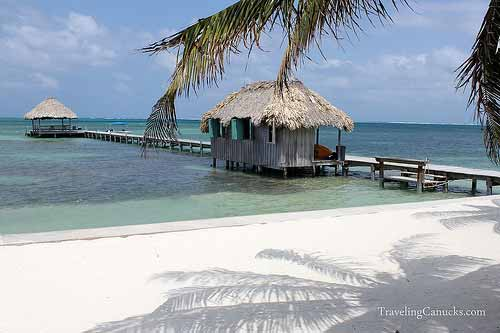 Private Dock at Victoria House, Ambergris Caye, Belize