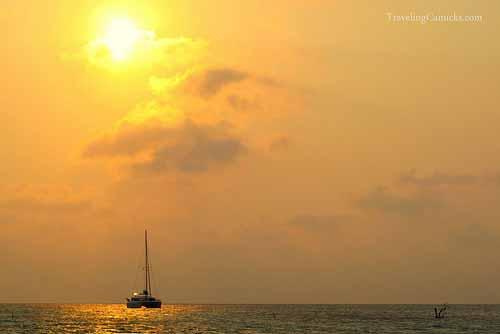 Catamaran - Caye Caulker, Belize