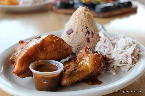 Caribbean Jerk Chicken - Caye Caulker, Belize