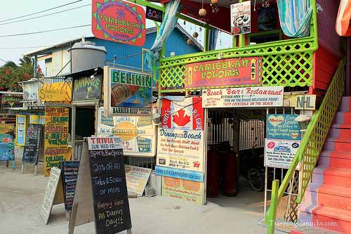 The Canadian Sports Bar - Caye Caulker, Belize