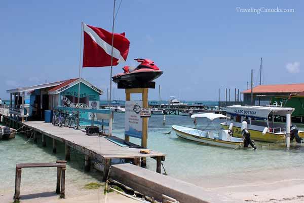 Dive shop - San Pedro, Ambergris Caye