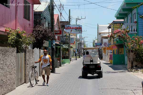 Streets of San Pedro, Ambergris Caye