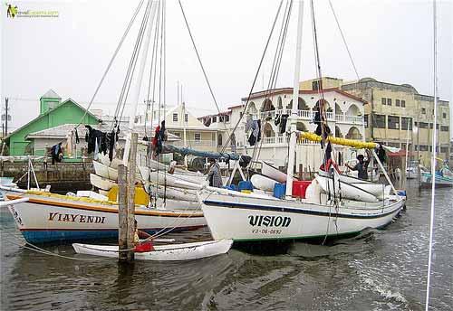 belize city sailboats