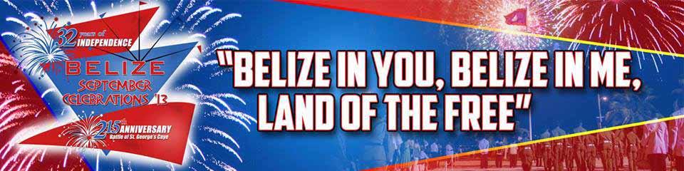 Belize September Celebrations 2013 Banner