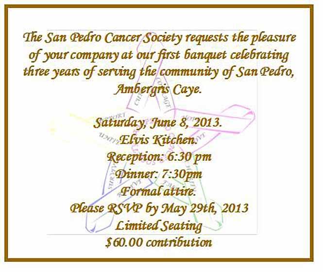 San pedro cancer society rd anniversary banquet