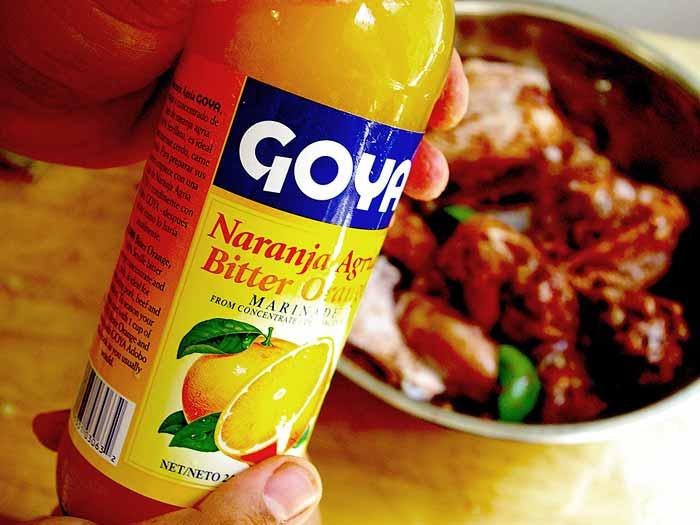 Substitute for Sour Orange, Tip: This Bitter Orange Contains Alot of Salt