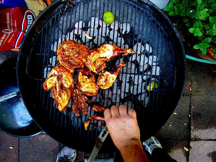 BBQ Chicken on the Grill!