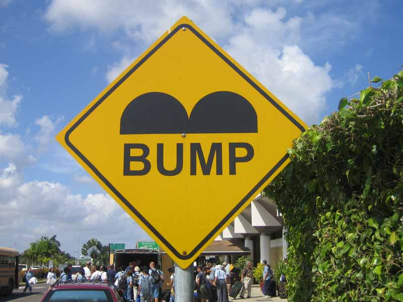Image result for speed hump belize