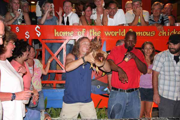 World Famous Chicken Drop, San Pedro, Belize
