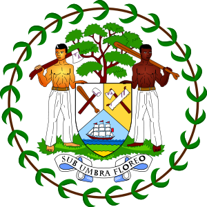 English: Coat of arms of Belize