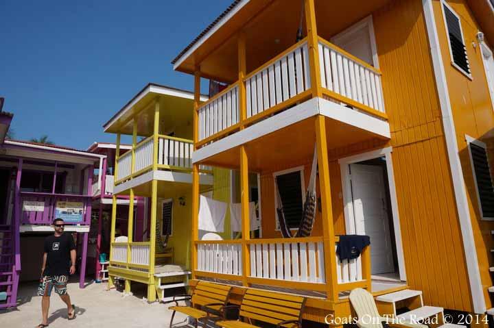 Funky Mara's Guest House in Caye Caulker