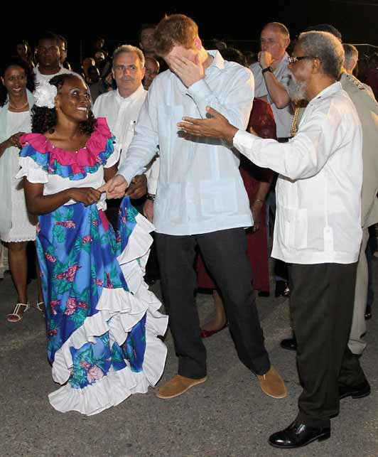 Topic Prince Harry: Prince Harry Has Arrived In Belize