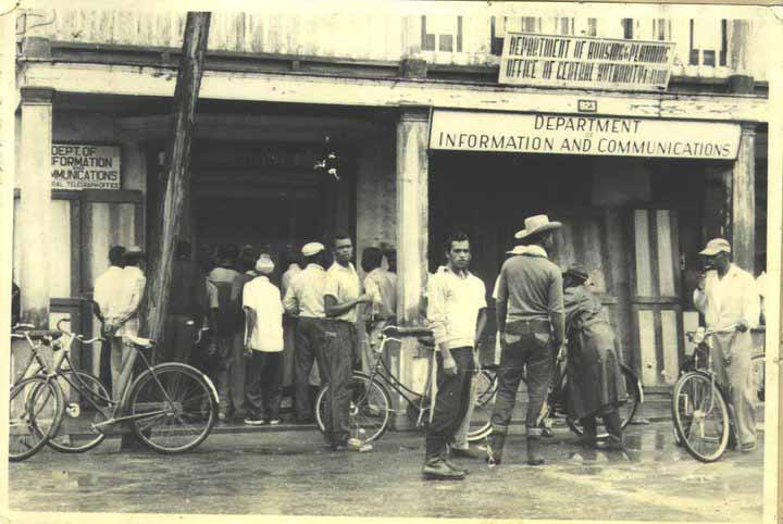Hurricane Hattie, Belize, 1961