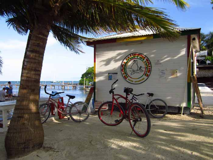 If you're ever on Caye Caulker, be sure to stop by the Ragga office!