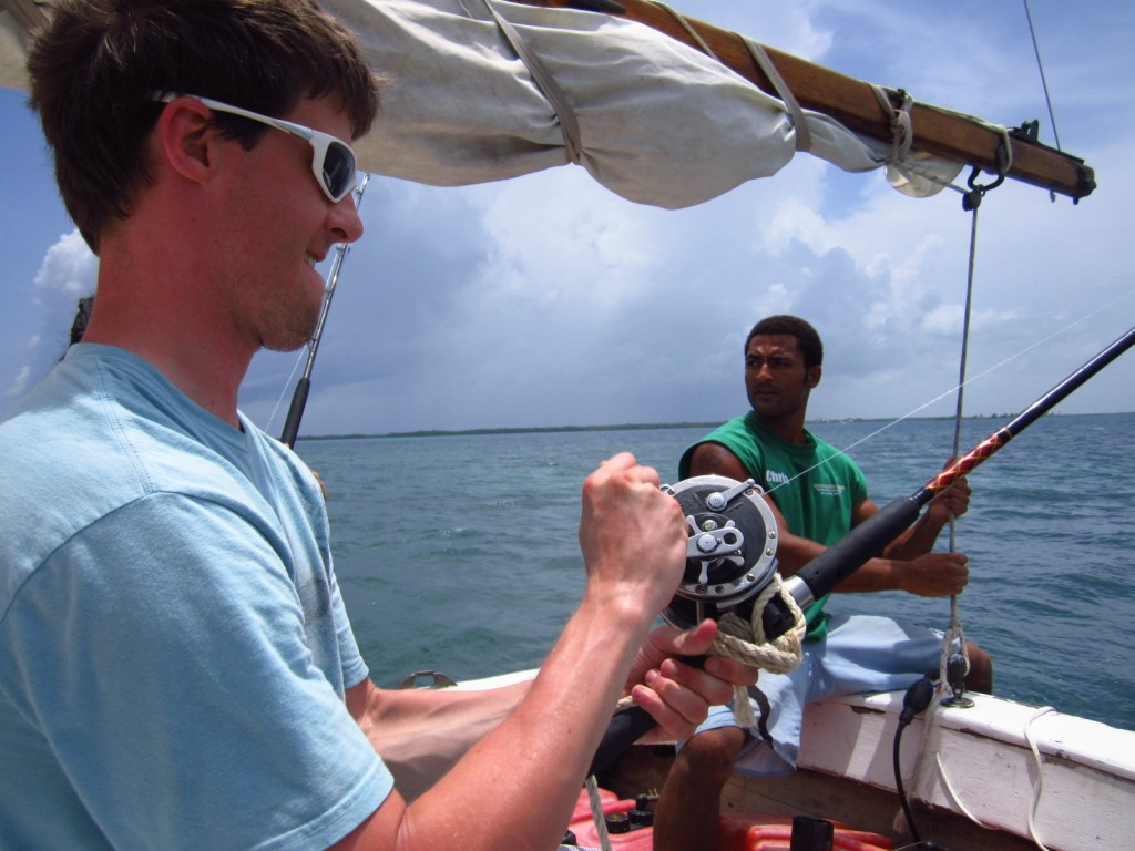 Fishing with Raggamuffin Tours in Belize