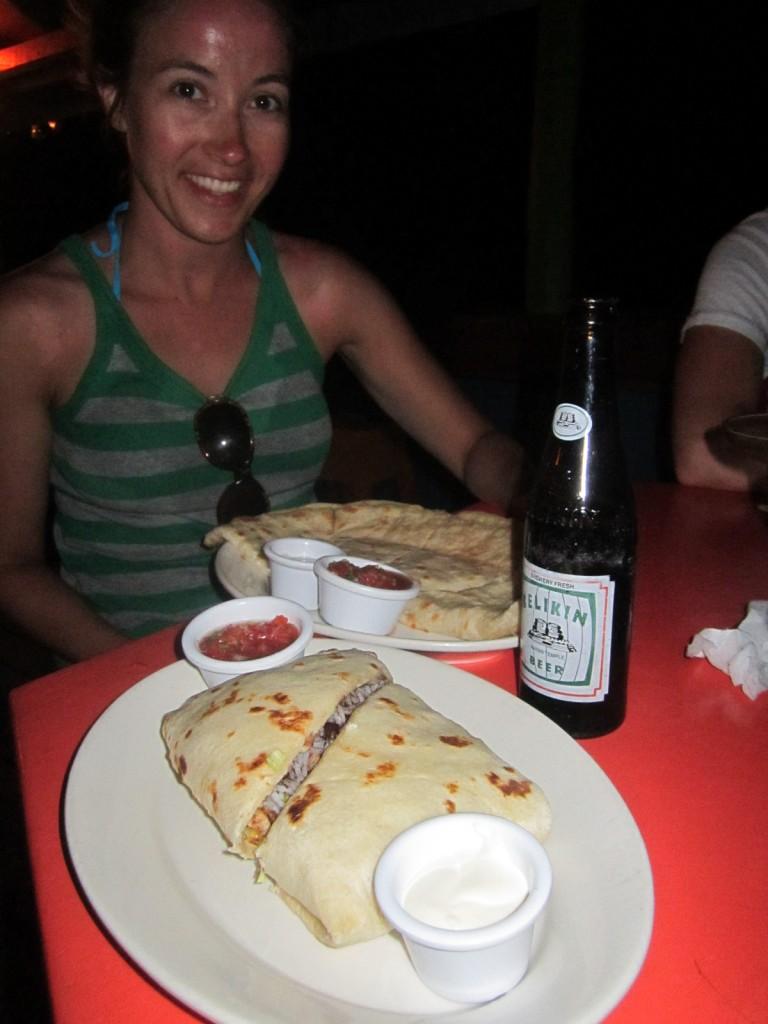 Whoa ... now THAT is what I call a Burrito!