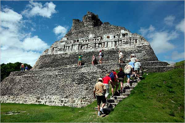 Xunantunich Mayan Ruins in Belize