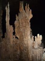 and stalagmites grew.