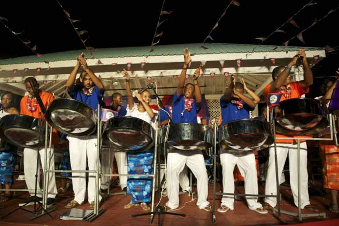Pan Yaad steel drum band